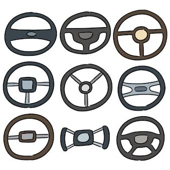 Conjunto de volantes