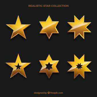 Conjunto estrela dourada