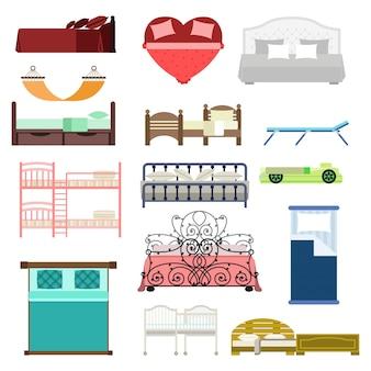 Conjunto exclusivo de móveis para dormir