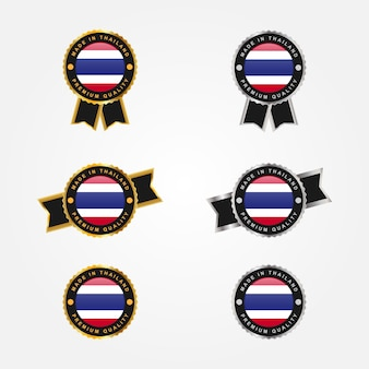 Conjunto feito na etiqueta da tailândia