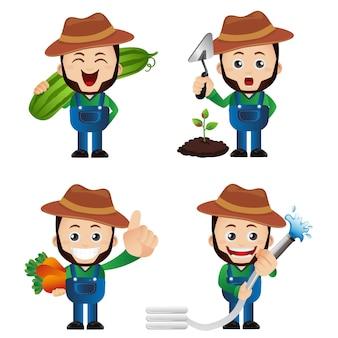 Conjunto fofo - conjunto de jardineiro