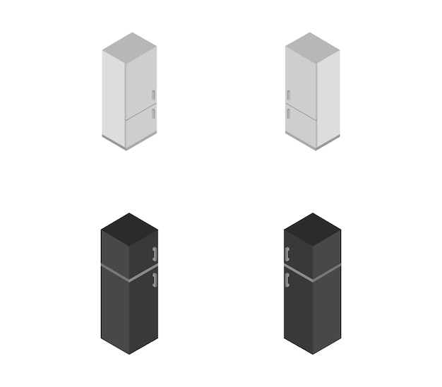 Conjunto isométrico de geladeira
