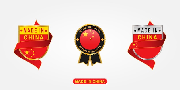 Conjunto made in china labels