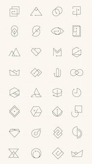 Conjunto mínimo de logotipo