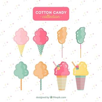 Conjunto moderno de algodão colorido