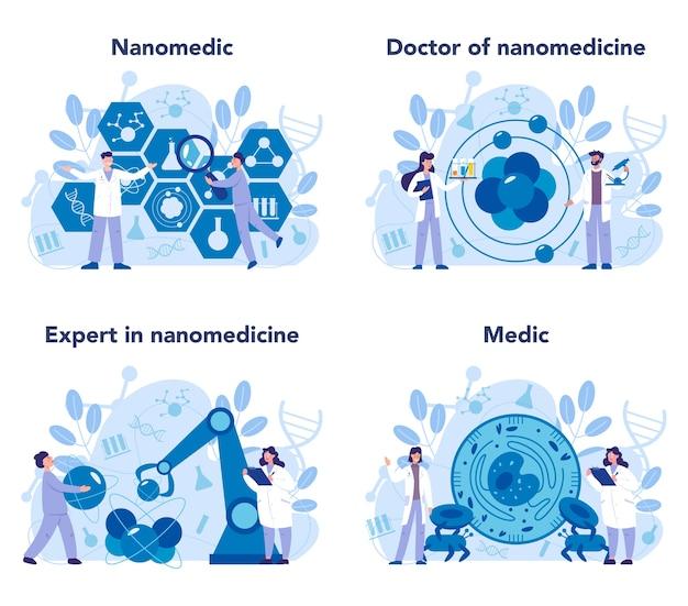 Conjunto nanomédico