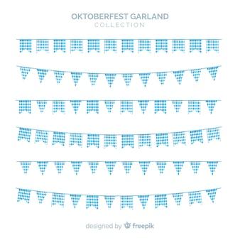 Conjunto original de guirlandas oktobefest