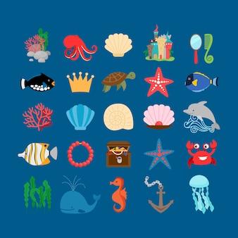 Conjunto subaquático.