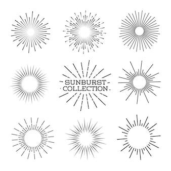 Conjunto sunburst.