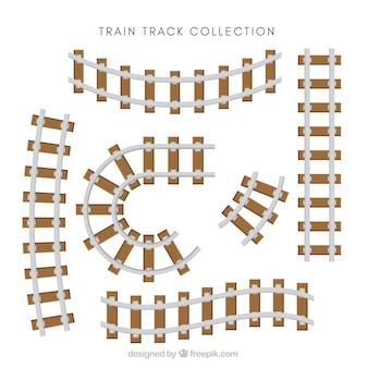 Conjunto, trem, trilhas
