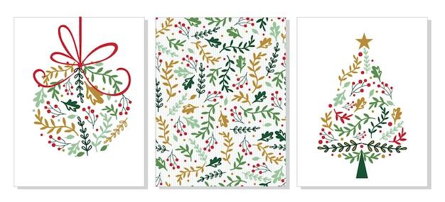 Conjuntos de cartões de natal
