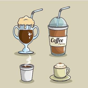 Conjuntos de ícones de café