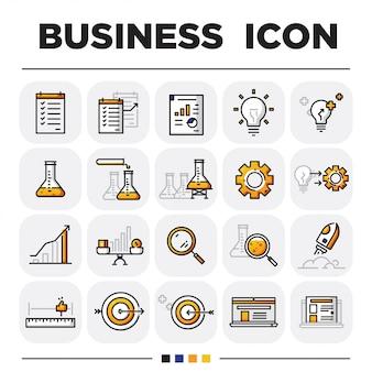 Conjuntos de ícones de negócios