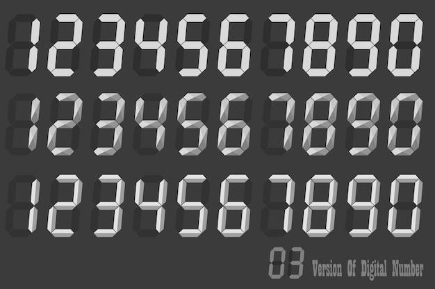 Conjuntos de números numéricos em itálico
