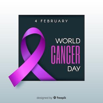 Consciência no dia mundial do câncer