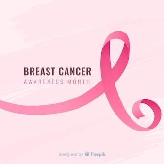 Conscientização do câncer de mama fita realista