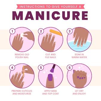 Conselhos de manicure para casa