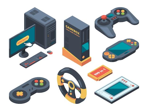 Console e sistemas de computador e gadgets para gamers