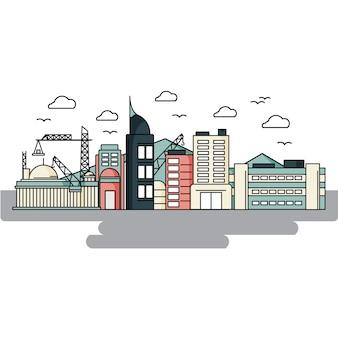 Construção da cidade
