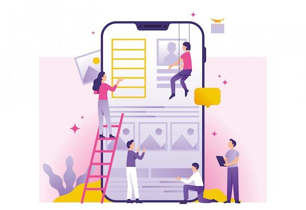Construção de aplicativos