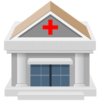 Construção de casa hospitalar 3d