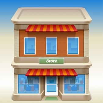 Construção de loja