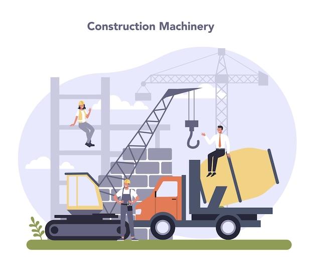 Construção e indústria de engenharia.