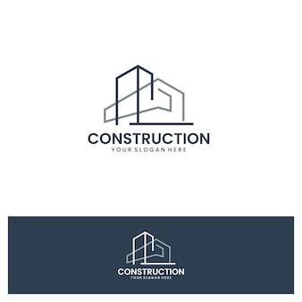Construção, inspiração para o design do logotipo