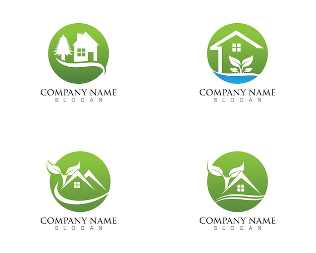 Construindo logotipos de natureza em casa