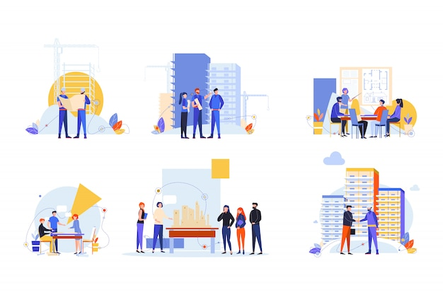 Construtores e arquitetos definir conceito