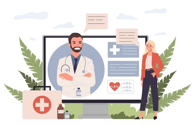Consulta ao paciente on-line