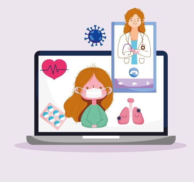Consulta de saúde online
