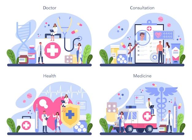 Consulta médica e recuperação