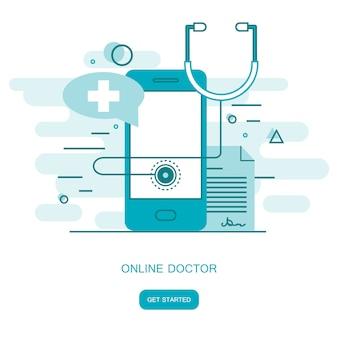 Consulta médica on line