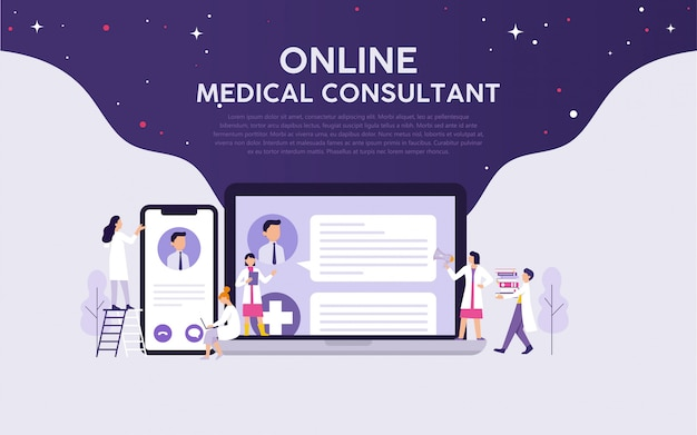 Consultor médico on-line