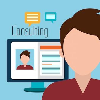 Consultoria profissional de negócios