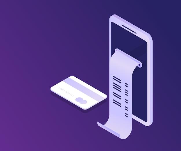 Contabilidade de pagamento pela internet