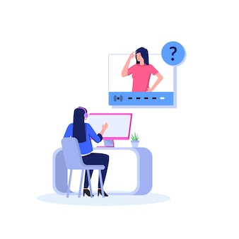 Contacte-nos ilustração