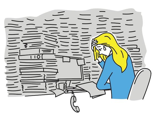 Contador de trabalho sobrecarregado