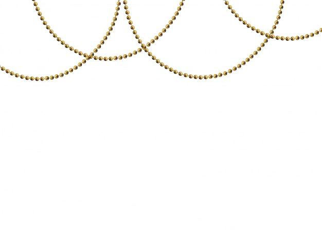 Contas de ouro