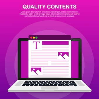 Conteúdo para modelo de postagem de blog criativo