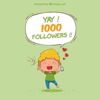 Contexto de 1000 seguidores