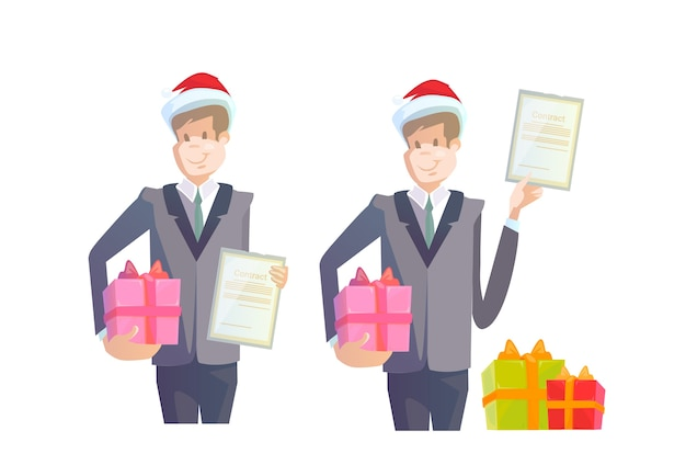Contrato de posse de homem de negócios