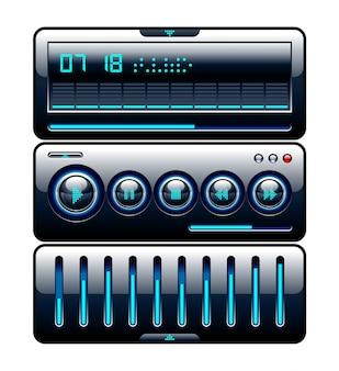 Controlador de música isolado