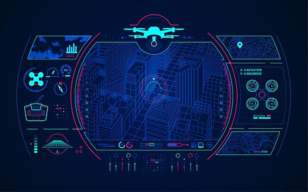Controle de drone