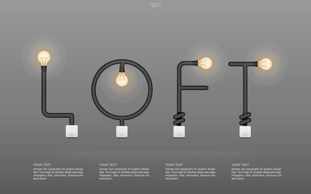 Controle de estilo de vida fora de iluminação de aço watt