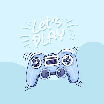 Controle de vídeo game