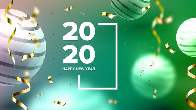 Convite criativo festa cartão 2020 banner