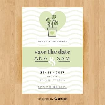 Convite do chá de panela
