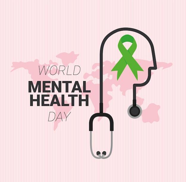 Convite do dia de saúde mental